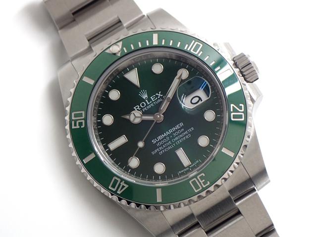 グリーンの時計といえば・・・