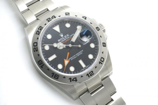 一回り大きな時計はいかがでしょうか?